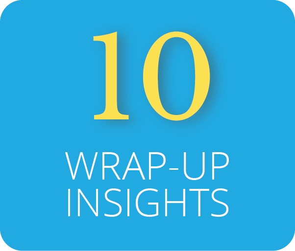 Wrap-Up Insights