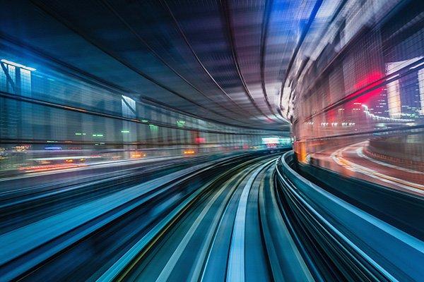 rapid changes met with speed