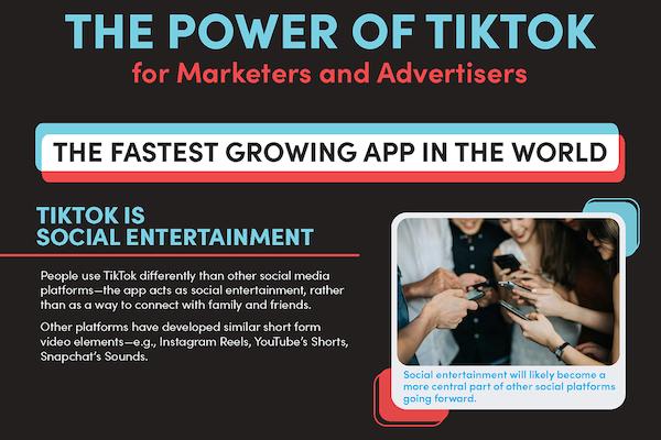 TikTok is social entertainment