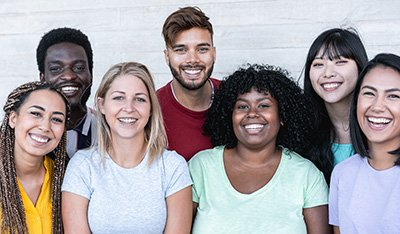 group of diverse inclusive employees