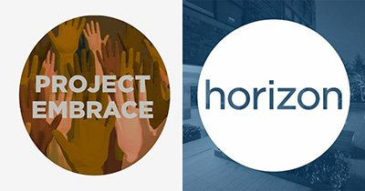 Horizon Media Project Embrace logo