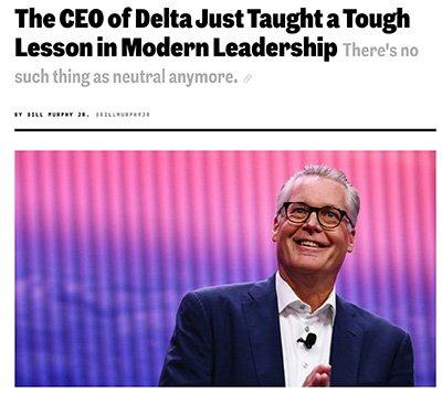 CEO of Delta article